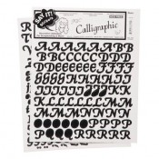 Alphabet Stickers - Calligraphic
