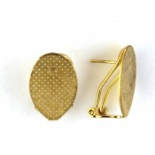 Gold Earring Holders