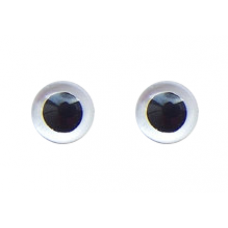 CeramiCritter Eyes - Clear (18 mm)