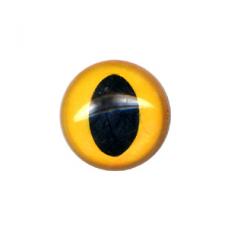 12 Slit Pupil Eyes - Amber (18 mm)