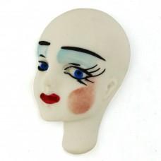 Friendly Plastic Face Side - White