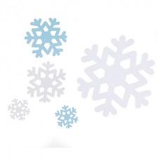 Snowflake Paper Cutouts