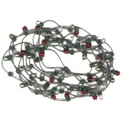 String of Mini Decorative Lights, Round 72""