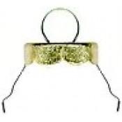 """3/4"""" gold ornament caps (50 pk.)"""