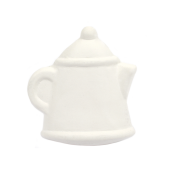 Bisque Knob Set (with Hardware) - Oval Teapot (2 pc.)