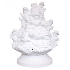 Snowman Tree Lamp with Base