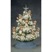 Snowman Tree Mold (Top Only)