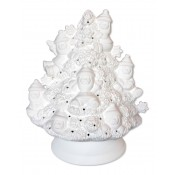 Santa Tree Lamp with Base