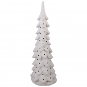 """14.25"""" Wispy Pine Bisque Tree with base"""