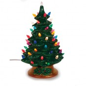 "12"" Bisque Tree Lamp - Accessories Included!"
