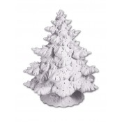 Bisque Frazier Fir Tree Lamp with Base