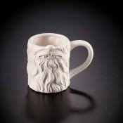 Chewbacca Mouth Mug Bisque