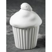 Strawberry Cupcake Box bisque