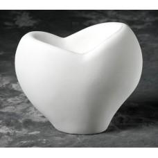 Duncan 26792 True Love Large Vase Bisque (Case)