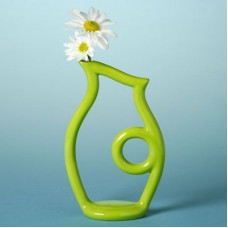 Duncan 27164 Contempo Outline Vase Bisque (Case)