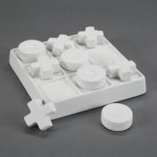 Mini Tic Tac Toe Set bisque