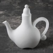 Fanciful Teapot bisque case (bisque blowout special)