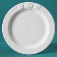 Duncan 29866 Garden Party Dinner Plate Bisque (Case)