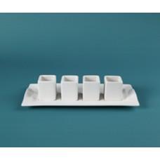 Duncan 30633 Sampler Tasting Set Bisque (Case)