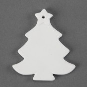 Christmas Tree Ornament bisque