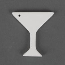 Duncan 32849C Martini Ornament Bisque (Case)