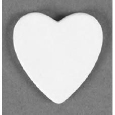 Duncan 33442 Heart Embellie Bisque