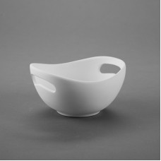 Duncan 35370C Small Handled Bowl Bisque (Case)