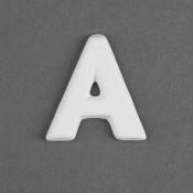 Letter A Embellie bisque