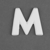 Letter M Embellie bisque
