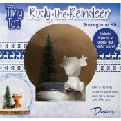 Tiny Tot Rudy the Reindeer Snowglobe Kit