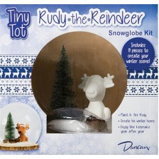 Tiny Tot Rudy the Reindeer Snowglobe Kit (Case)