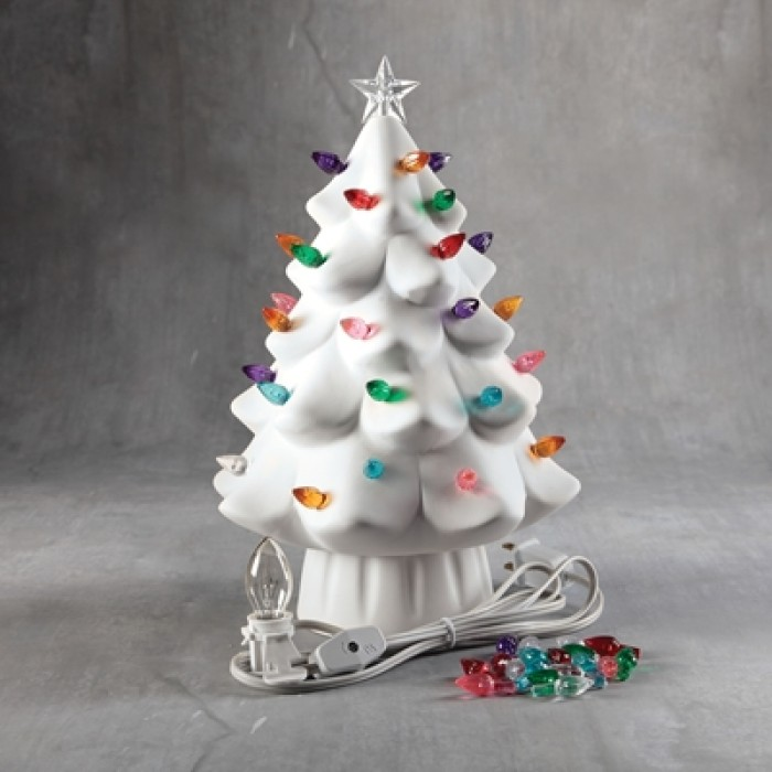 Lighted Christmas Tree.Duncan 35979 Lighted Christmas Tree Bisque