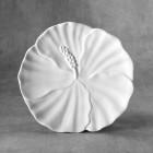 Hibiscus Plate bisque