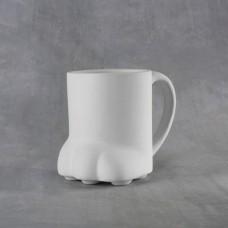 Duncan 38115 Paw Print Mug 14 oz. Bisque