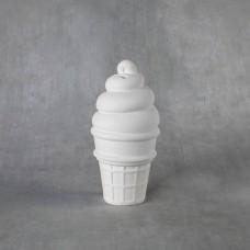 Duncan 38178 Ice Cream Cone Bank Bisque