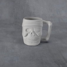 Duncan 38257 Pirate Mug 16 oz. Bisque