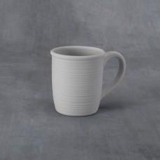 Duncan 38263C Textured Stripes Mug 14 oz. Bisque (Case)