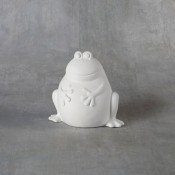 Ribbit the Frog Bank bisque (case)