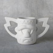 Crazy Frankie Mug 14 oz. bisque (case)