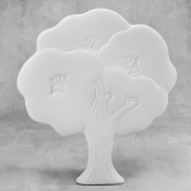 Tree Plaque bisque