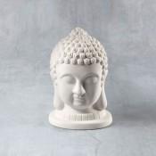Buddha Bust Bisque