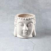 Buddha Planter Bisque