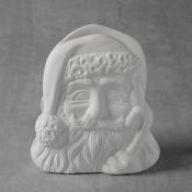 Santa Napkin Holder Bisque
