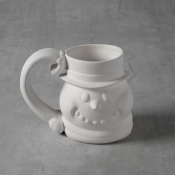 Snowman Mug Bisque