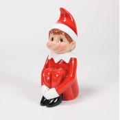 Vintage Red Elf
