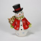 Vintage Snowflake Snowman