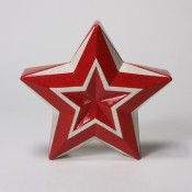 Faceted Star with Star Dust