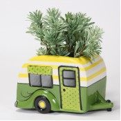 Green Camper Container