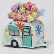 Flower Camper Container