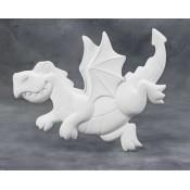 Dragon Plaque bisque